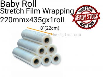Baby Roll Stretch Film Wrapping 22cmx435g