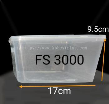 Square Container FS3000 30pcs+/-