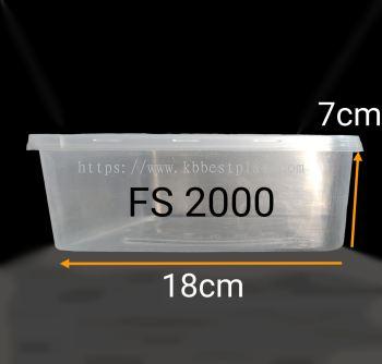 Square Container FS2000(SQ5) 30pcs+/-