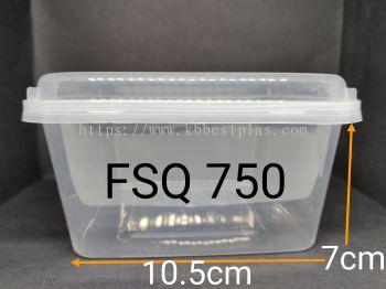 Square Container FSQ750 50pcs+/-