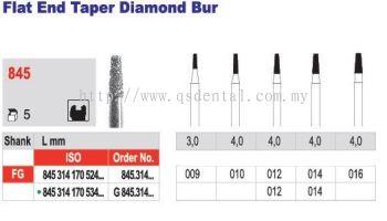 Flat End Taper Diamond Bur