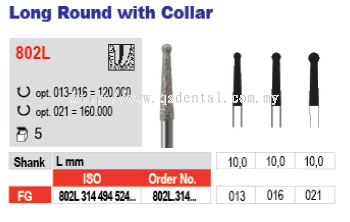 Long Round with Collar 802L