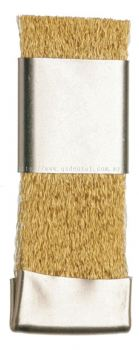 143 60 NI Scrubbing brush with grafter, crimped brass wire