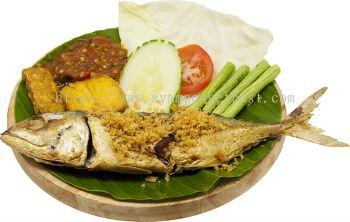 Ikan Kembong Penyet