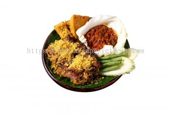 Empal Penyet With Sambal