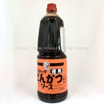 DT0006 Tongkatsu Sauce Bulldog 1.8Ltr ��ըˮ����