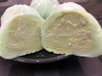 FM0034 Mochi Ice Cream Green Tea (HALAL) 日式雪糕麻籽 -绿茶