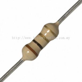 Carbon Film Resistor, CFR025J1R, 0.25W, 5%, 1 ohm