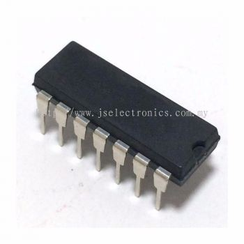 DUAL OPERATIONAL AMPLIFIER, LM741CN,DIP-14