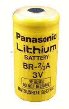 PANASONIC, 3 VOLTS LITHIUM BATTERY, SIZE BR-2/3A