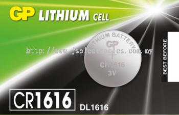 GP LITHIUM COINS CELLS BATTERIES , 3V CR1616-7C5