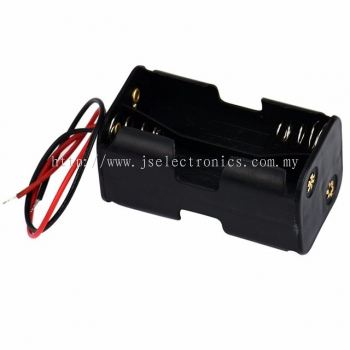 4 AAA BACK TO BACK BATTERY HOLDER, 4 BATTERIES
