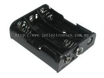 3 AAA BATTERY HOLDER, 3 BATTERIES