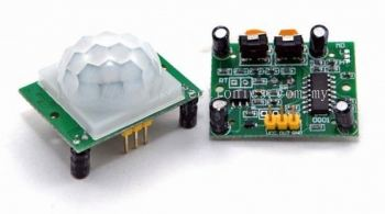 PIR Motion Sensor Module HC-SR501 w/ Adjustable Delay Time & Output Signal
