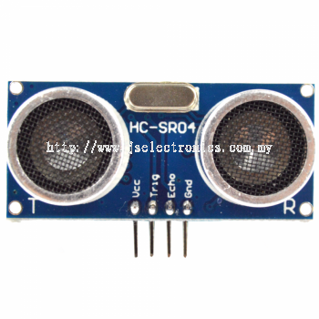 Ultrasonic Range Detector Distance Sensor HC-SR04 (2cm - 400cm) 3mm Resolution