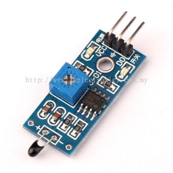 NTC Themistor Module LM393 (Temperature up to 80 Degree Celsius)