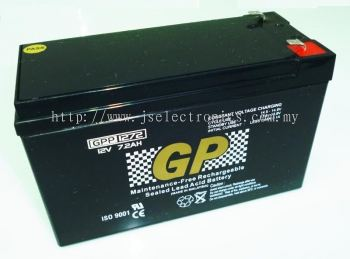 Seal Lead Acid Battery 12V 7.2AH GPP1272