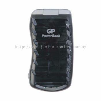 GP Batteries Universal PowerBank Charger GPPB19BS-C1