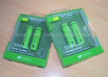 GP ReCyko+ Rechargable AA, GP130AAHCE-C2