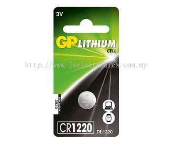 GP LITHIUM COINS CELLS BATTERIES  3V CR1220-C1