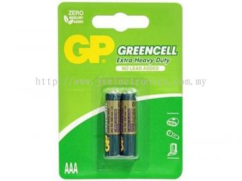 GP Greencell Batteries AAA (2pcs/card) GP24G-2U2
