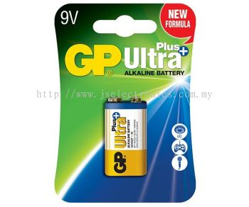 GP Plus Ultra Alkaline Battery 9v GP1604AUP-C1