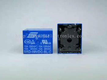 SONGLE Power Relay SRD-9VDC-SL-C PCB Type 5pin