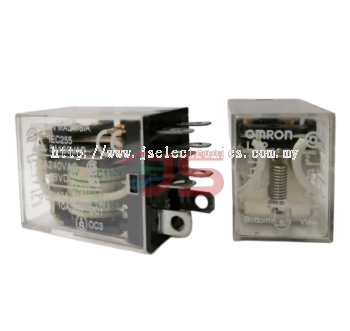 Omron Relay LY2 AC110V without Indicator