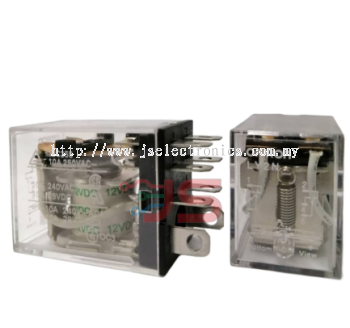 Omron Relay LY2 DC12V without Indicator