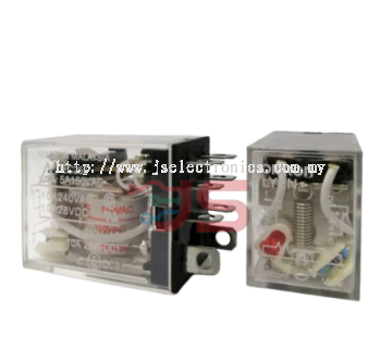 Omron Relay LY2N AC110V with Indicator
