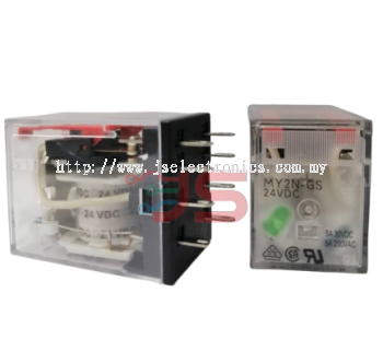 Omron Relay, MYGS Series, DC24V Coil