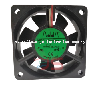 ADDA DC Fan Blower 12VDC 0.14A 3 Lead Wire