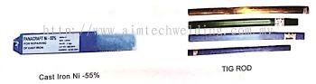 Cast Iron Electrodes & TIG Rod
