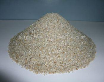 Silica sand  8/16 (2MM- 1.2MM) White