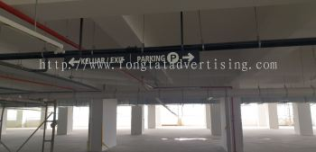 Car Park Hanging Sign