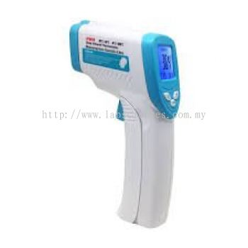 Forehead infrared thermometer and industrial thermometer