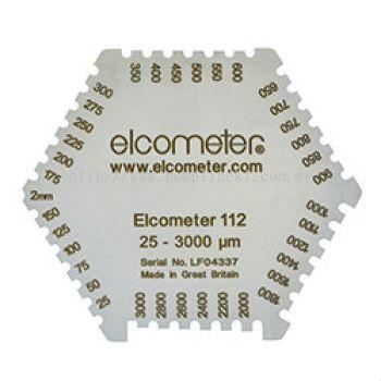 Elcometer 112AL Punched Aluminium Wet Film Combs