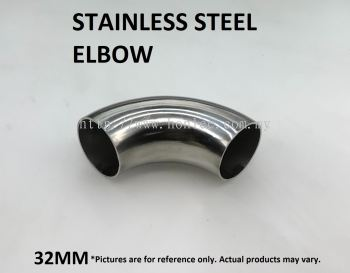 32mm STAINLESS STEEL ELBOW