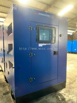 WCS275M 250KVA Diesel Generator Set Silent Canopy
