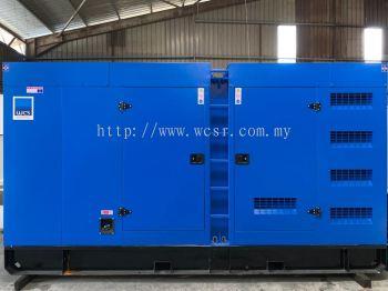 WCS330M 300KVA Diesel Generator Set Silent Canopy