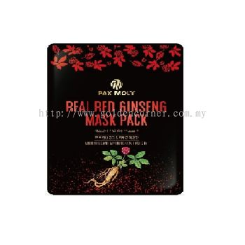 PAX MOLY REAL RED GINSENG MASK PACK