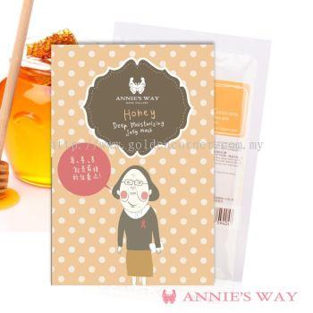 Annie's Way Honey + Lecithin Deep Moisturizing Jelly Mask 40ml