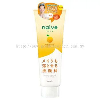 Kracie Naive Makeup Removal Face Wash 200g - Yuzu Ceramide