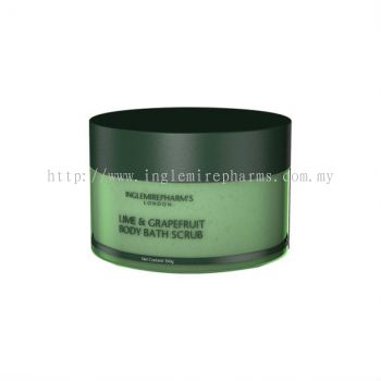 INGLEMIREPHARM' S Lime & Grapefruit Body Bath Scrub Ӣ����������������ԡĥɰ��
