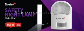 Safety Night Lamp (Model : ML-VI)