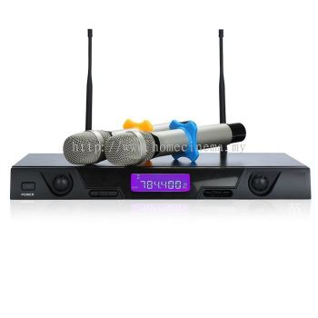 2-Channel Professional Wireless Long Range Microphone