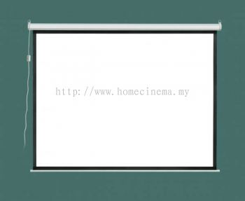Projector Screen Installation with Electrical