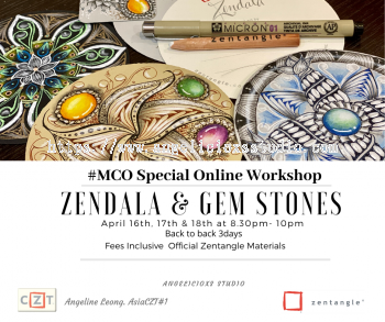Zendala & Gemstones Workshop