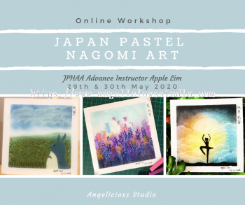 Japan Pastel Nagomi Art online Workshop