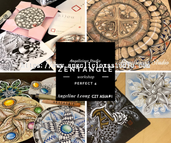 Zentangle perfect 4 workshops